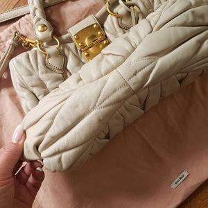 Miu Miu Bags - Miu miu  💯 %  mathesse leather bag.